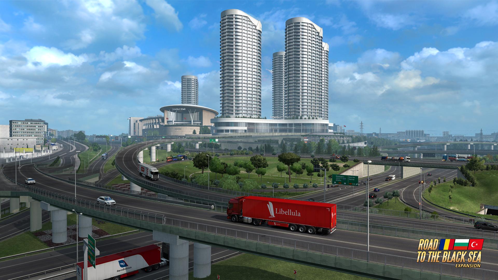 Euro Truck Simulator 2 screenshot